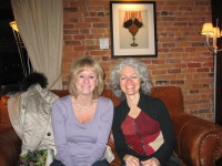 Kathy Reichs in Canada on book tour.