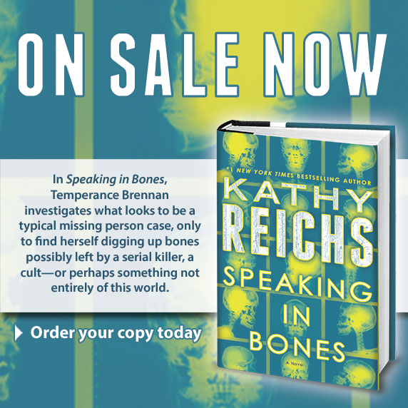 Speaking In Bones On Sale Now!
