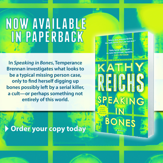 Speaking In Bones, available Jan 2016.